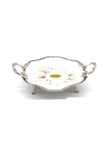 Sembol Porselen Oval Büyük Meyvelik Renkli